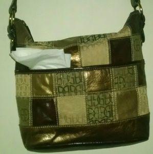 Long strap purse